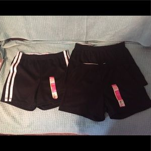 Faded Glory athletic gym shorts NWT Girl 10 12